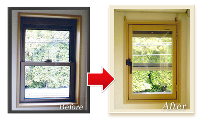 二重窓 プラマードU設置事例