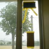 公立中学校 ガラス修理
